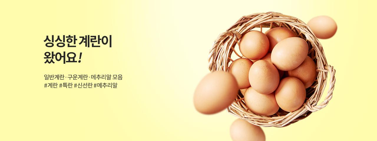 계란이 왔어요