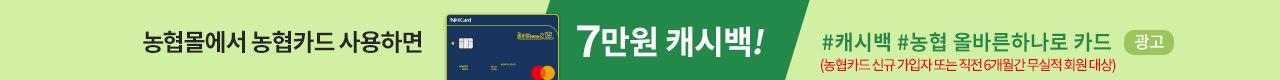 NH카드 캐시백 이벤트