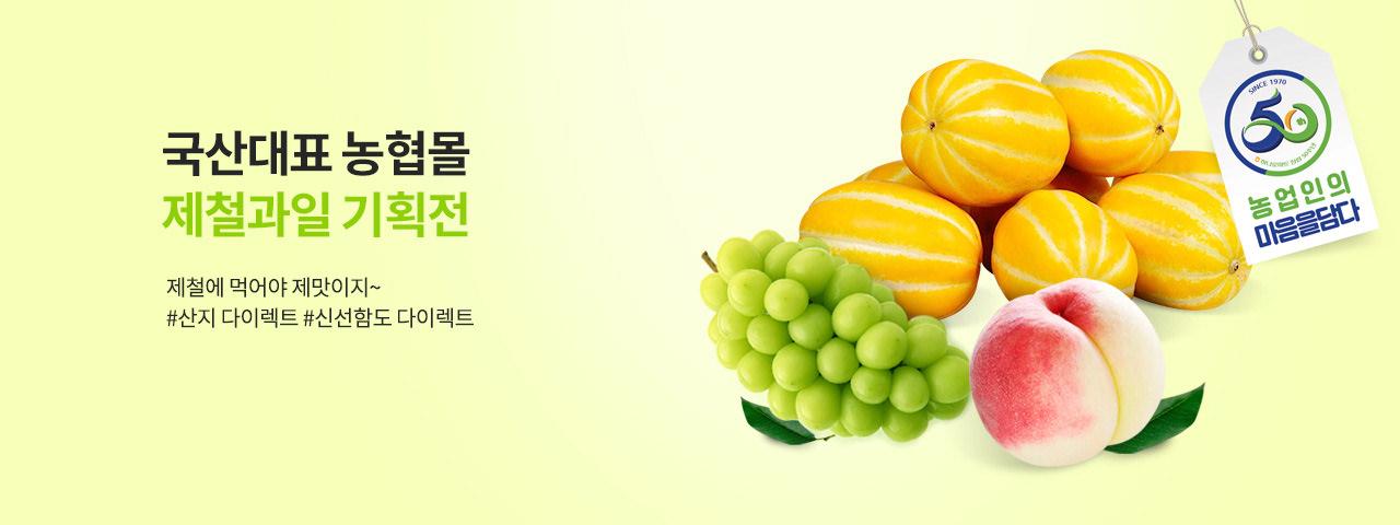 국산대표 농협몰의 제철과일!