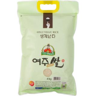 농협하나로마트 여주 대왕님표 진미 여주쌀 단아미 (영호진미),4kg (2020년산)