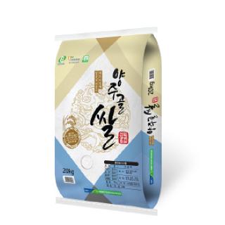 어하둥둥 농협 양주골쌀(대안품종) 20kg,2019년산