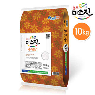 농협 충주시 미소진쌀(추청) ,10kg, 2019년산