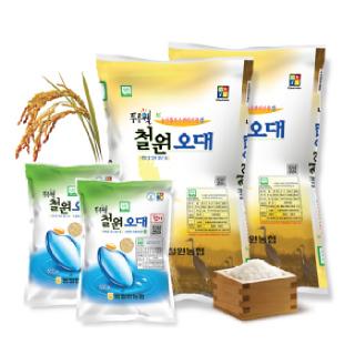 농협 GAP인증 철원오대쌀꾸러미(오대미10kg+오대현미1kg), 2019년산