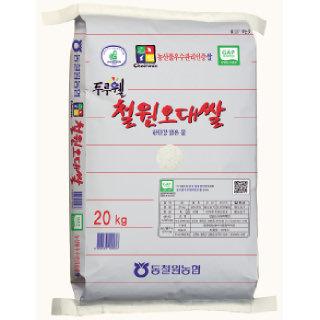 동철원농협 두루웰 철원오대쌀20kg, 2019년산