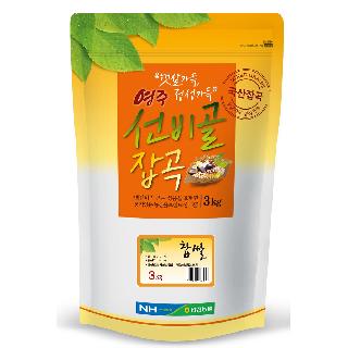 안정농협 찹쌀3kg,2019년산