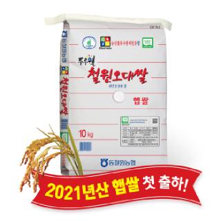 동철원농협 두루웰 철원오대쌀 햅쌀 10kg, 2021년산