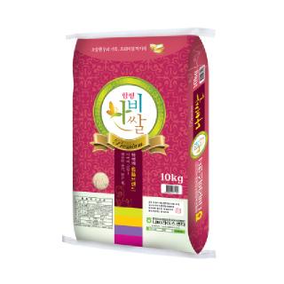 GAP인증 함평농협 나비쌀(히토메보레)10kg,20년산