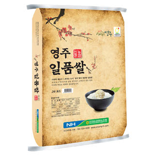 안정농협 영주 일품쌀, 20kg, 2019년산