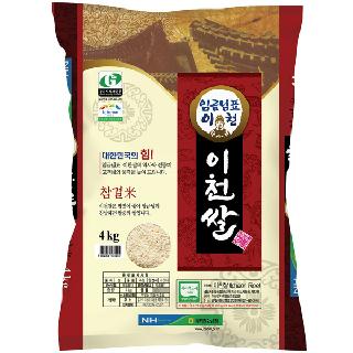 농협하나로마트 임금님표 이천쌀(추청),4kg (2020년산)