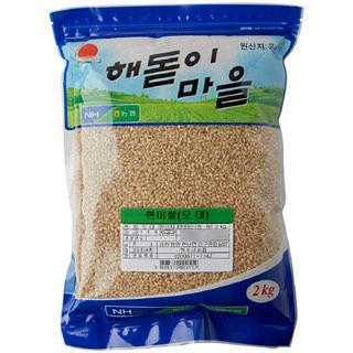 하조대농협 현미쌀, 2020년산, 2kg