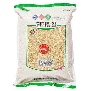 예천농협 현미찹쌀(동진찰), 2020년산, 4kg
