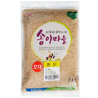 양양농협 현미(오대), 2020년산, 2kg