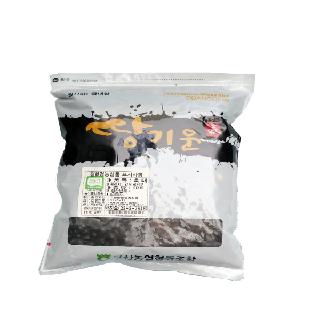 [완주 고산농협][단품] 친환경 땅기운 흑태 1kg(2020년산,국내산)