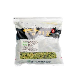 [완주 고산농협][단품] 친환경 땅기운 조각서리태 1kg(2020년산,국내산)