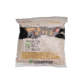 [완주 고산농협][단품] 친환경 땅기운 보리쌀 1kg(2020년산,국내산)