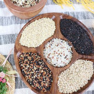 [남도장터]구례공동체 검정찰보리쌀 1kg