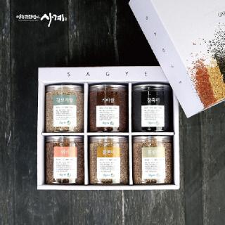 [영농조합법인사계] 국산 잡곡 선물 세트 6종