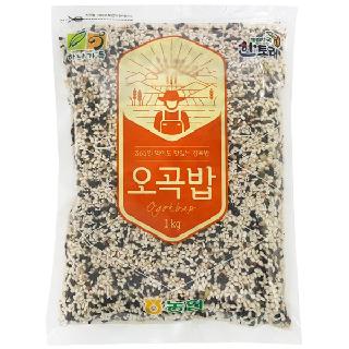 농협하나로마트 하나가득 오곡밥 1kg