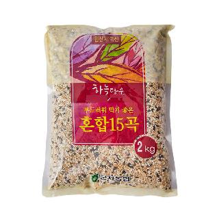 농협하나로마트 군자농협 혼합15곡,2kg