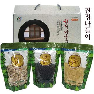 안동와룡농협 친정나들이 3종 4호 선물세트(1.8kg)