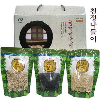 안동와룡농협 친정나들이 3종 2호 선물세트(1.8kg)