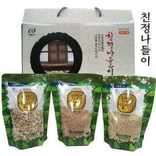 안동와룡농협 친정나들이 3종 1호 선물세트(1.8kg)
