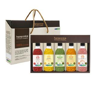[하나로라이스] 컬러영양쌀 정성 5종선물세트 280gx5