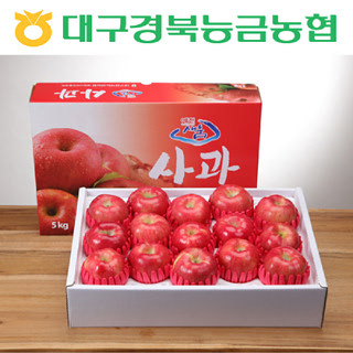 [경북능금농협] 프리미엄 경북사과 5kg(14~16과/제수용 가능)