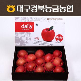 [경북능금농협] 데일리 사과세트 3.5kg(13내/중상과)