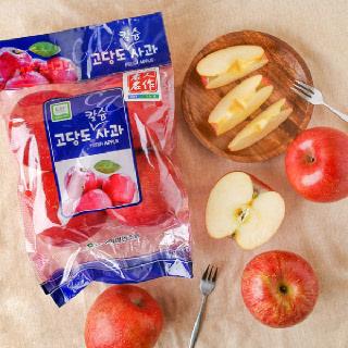 농협하나로마트 GAP 고당도 사과(4~5입)/봉지