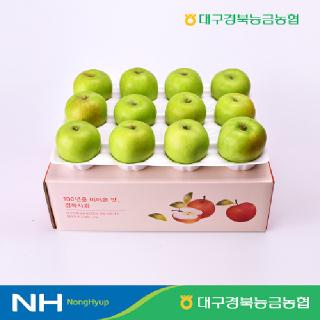 [대구경북능금농협] 2021 햇 아오리 사과 2.5kg, 3kg 구성 #문경 #안동 #산지