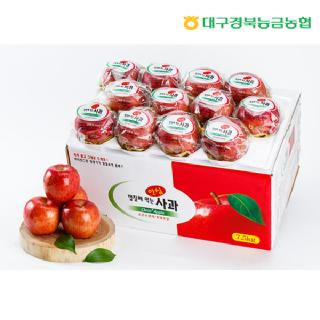 [경북능금농협] 안심 세척사과 7.5kg(중과/26-30과)