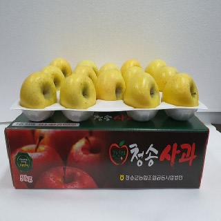 농협 청송 시나노골드(황금사과),10kg(32내)/중대과