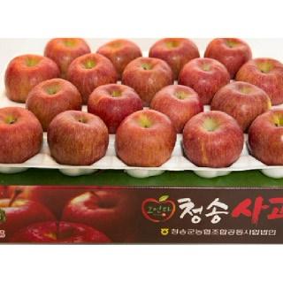 농협 청송 꿀맛사과 4kg(대과/13내)
