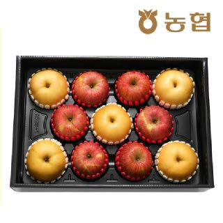 [9월 16일 순차 출고] [대구경북능금농협]사과·배 혼합세트 5kg(사과6과, 배5과/대과)