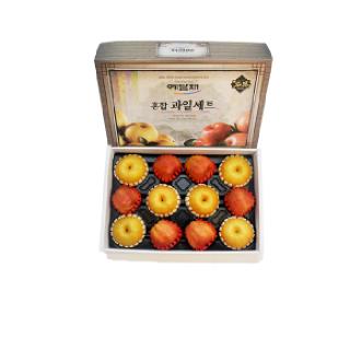 [익산원예농협] 사과 배 혼합세트 6kg(사과6+배6)