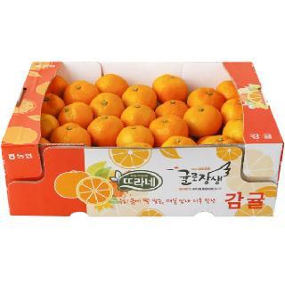 농협하나로마트 감귤 4kg(S~M)/박스