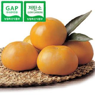 [GAP인증, 저탄소인증] 감고을 아삭단감 6kg(왕특과/20과),가정용 3L