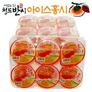 청도 씨없는 감 아이스홍시 5호, 100g*24개/총2.4kg