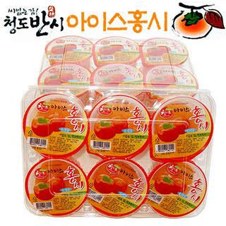 청도 씨없는 감 아이스홍시 1호, 60g*24개/총1.4kg