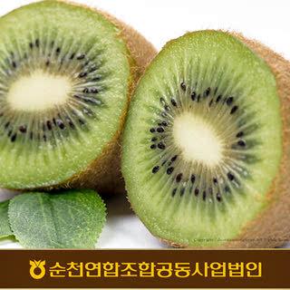 순천농협 새콤달콤 순천 그린키위 3kg(35내/중대과)
