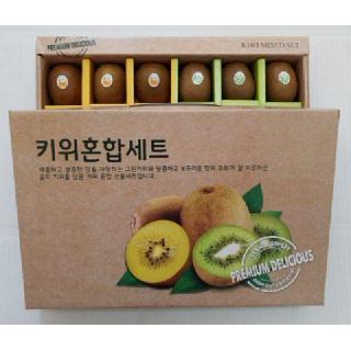 순천농협 골드+그린키위 혼합 선물세트 2kg내외(18입)