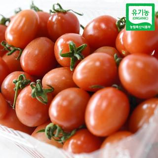 [산지직송] 충주 유기농 방울토마토 1kg/2kg