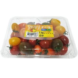 농협 하나로마트 칼라방울토마토 1kg/팩