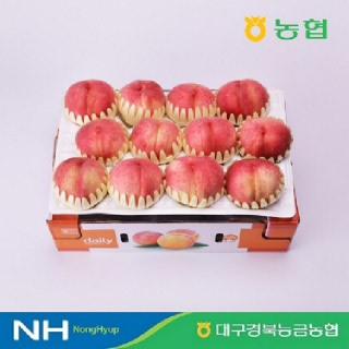 [경북능금농협] 경북 영천 딱딱이 털복숭아 3kg 12과내