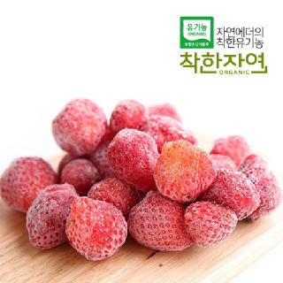 착한자연 러브팜 유기농 냉동딸기 4kg