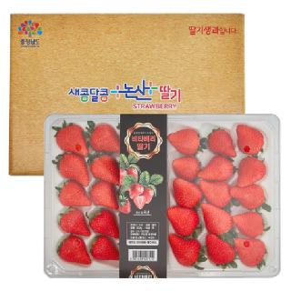 높은 당도가 장점인 논산 비타 베리 딸기 800g(30구)특