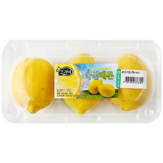 농협하나로마트 레몬 3입(팩)