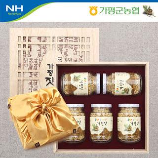 가평군농협 가평잣 선물세트 오한 2호 700g(140gx5개)