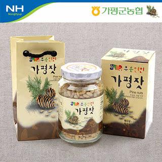가평군농협 가평잣 실속 1호 / 140g+쇼핑백 증정
